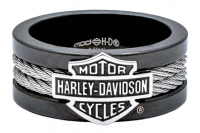 H-D STEEL CABLE BAND RING
