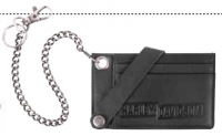 H-D LEATHER DRAG RACE CC CASE WITH CHAIN