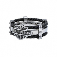 H-D STEEL DOUBLE CABLE BAND RING