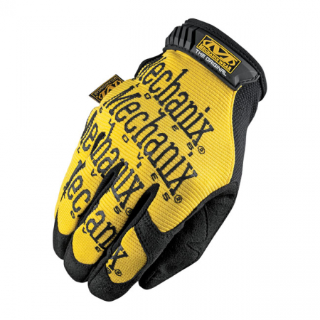 MECHANIX THE ORIGINAL HANSKAT, BLACK YELLOW